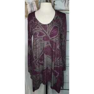 Soft Surroundings long sleeve asymmetrical